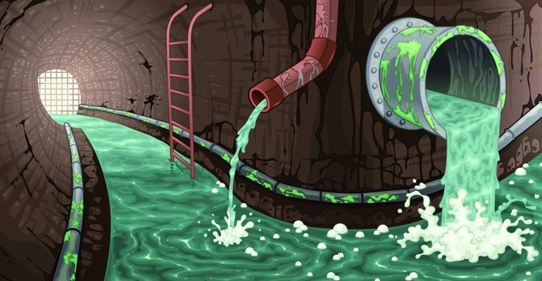 A la caza del vertido ´fantasma´ en los saneamientos