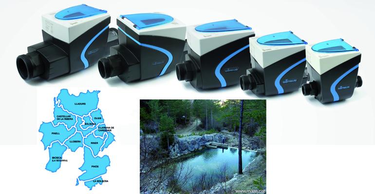 Medición y fiabilidad de lectura de contadores en el suministro de la Mancomunidad de Abastecimiento de Agua del Solsonés