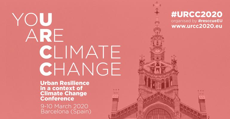 El proyecto Resccue organizará una conferencia sobre resiliencia urbana en Barcelona