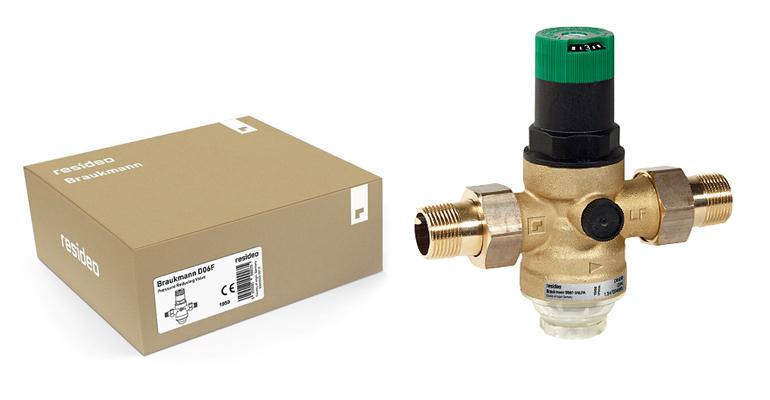 Resideo recupera la marca Braukmann para  su gama de productos de alta calidad para agua residencial
