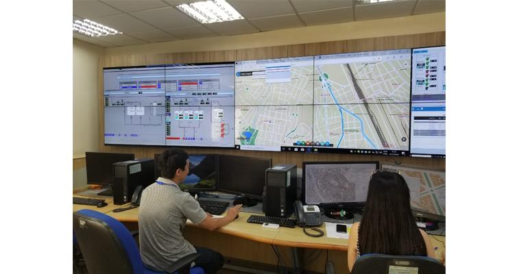 La compañía de gestión de agua de São Paulo se hace con 144 paneles de Christie para sus salas de control