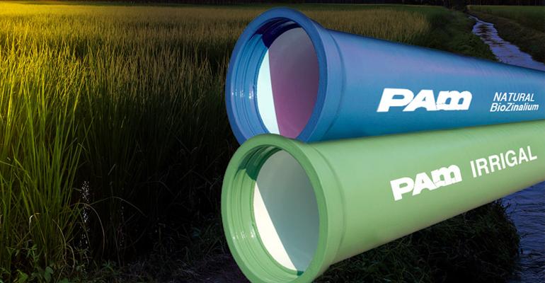 Saint-Gobain PAM: Canalizaciones de fundición dúctil para riego agrícola