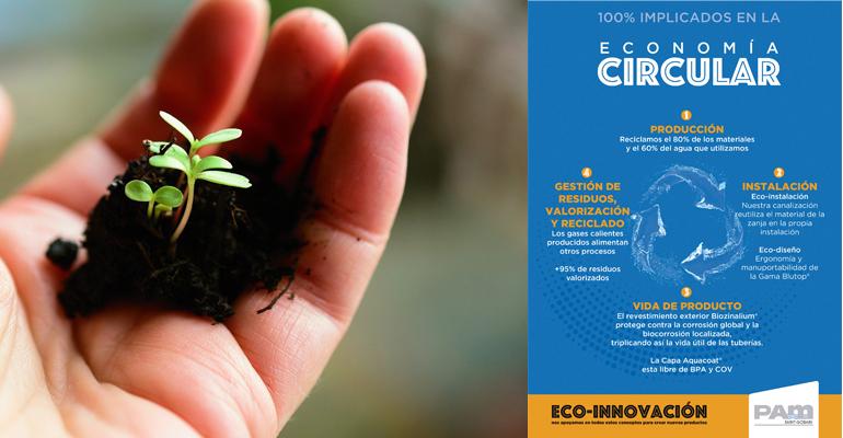 ¿Qué hace Saint-Gobain PAM para cultivar la economía circular?