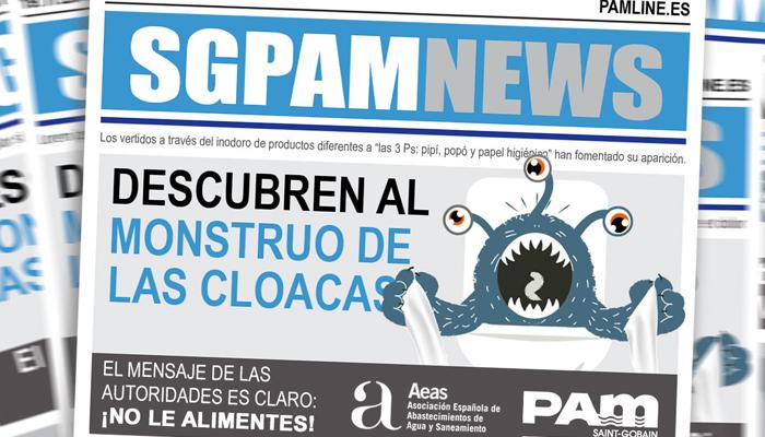 saint-gobain-pam-lucha-monstruo-cloacas-abastecimiento-saneamiento