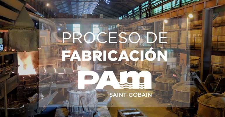Proceso de fabricación de tuberías de fundición dúctil de Saint-Gobain PAM