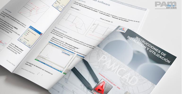 Saint-Gobain PAM: Software CAD para proyectos de tuberías y accesorios