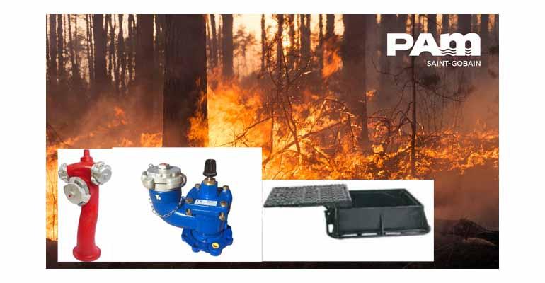 Saint-Gobain PAM: soluciones para la prevención de incendios