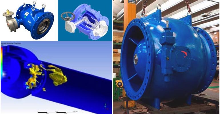 Saint-Gobain PAM: Válvula de paso anular para regulación y control de redes hidráulicas