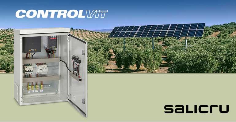 Salicru: Armarios para instalaciones de bombeo solar