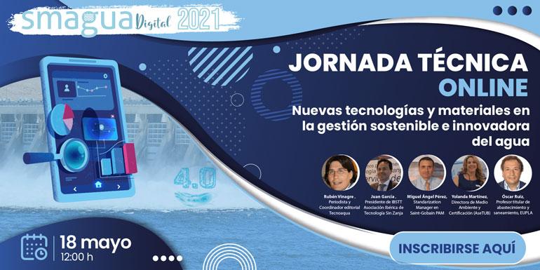 Tecnoaqua le invita a descubrir los materiales y tecnologías que favorecen la gestión eficiente y respetuosa del agua en Smagua Digital