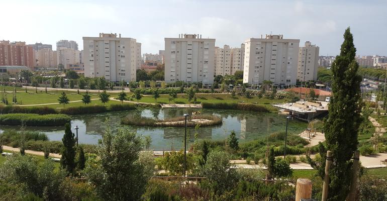 Suez y COP25: el ejemplo del Parque de La Marjal de Alicante, una infraestructura capaz de recoger 45 millones de litros de aguas pluviales