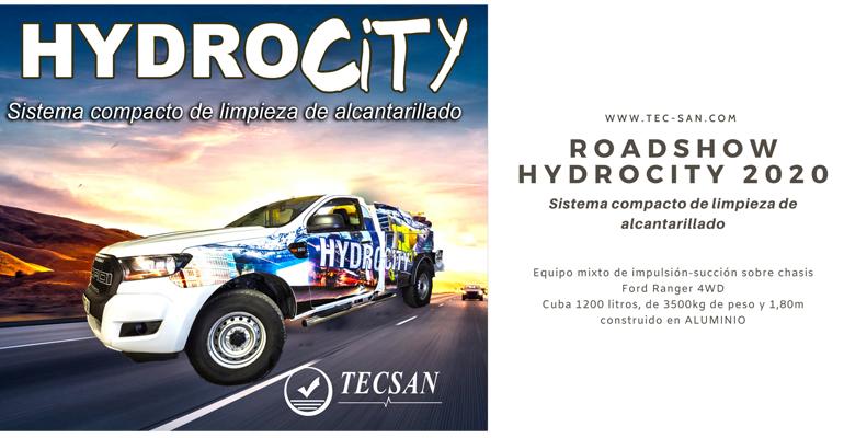 Tecsan organiza un roadshow sobre sus nuevos camiones de limpieza de alcantarillado