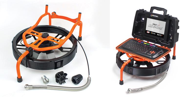 Tecsan: Sistemas de inspección de tuberías de pequeño diámetro