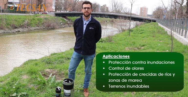 Vídeo de David Ardid, técnico comercial del Grupo Mejoras, explicando las aplicaciones de la válvula WaStop