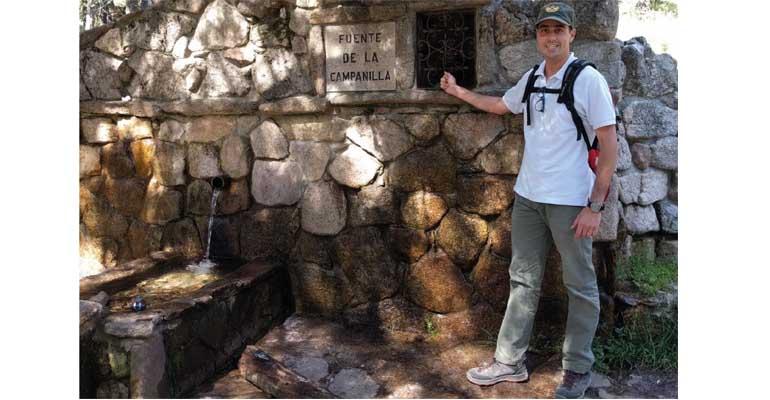 Andres Sanz de Ojeda, de la UPCT, ha investigado la relación entre las aguas subterráneas y los terremotos