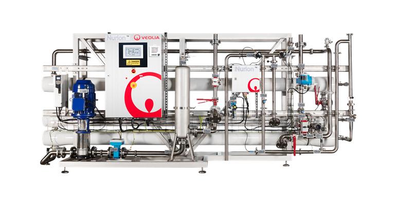 Veolia: Sistema de ósmosis inversa para la industria de la alimentación y bebidas