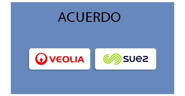 Veolia y Suez llegan a un acuerdo de fusión: fin a la ´batalla del agua´