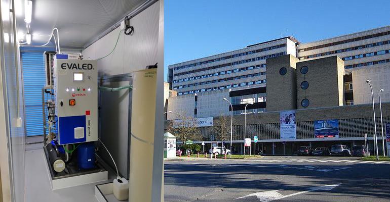 Veolia pone en marcha una tecnología de evaporación para reducir los residuos químicos en el Hospital Galdako de Vizcaya