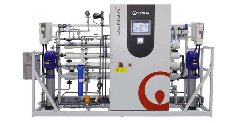 Veolia Water Technologies: Sistema de ósmosis inversa de doble paso