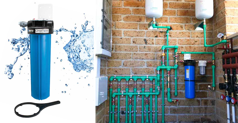 El confort de una vivienda también depende de la calidad del agua. Watts y el caso de una residencia en Roma