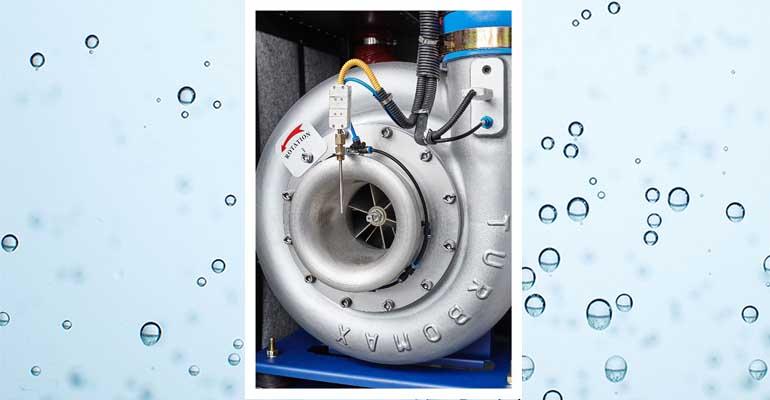 Turbosoplante de Xylem para reducir el consumo energético en las EDAR